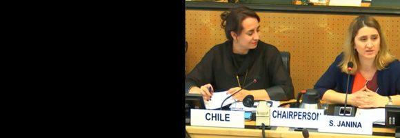 Chile en diálogo con Comité CED