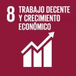 ODS 08: Trabajo decente y crecimiento económico