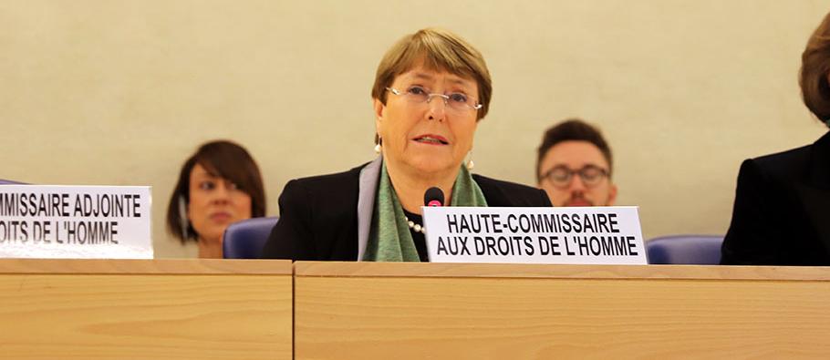 Bachelet alarmada por los intentos de socavar las instituciones nacionales de derechos humanos en América Latina y el Caribe