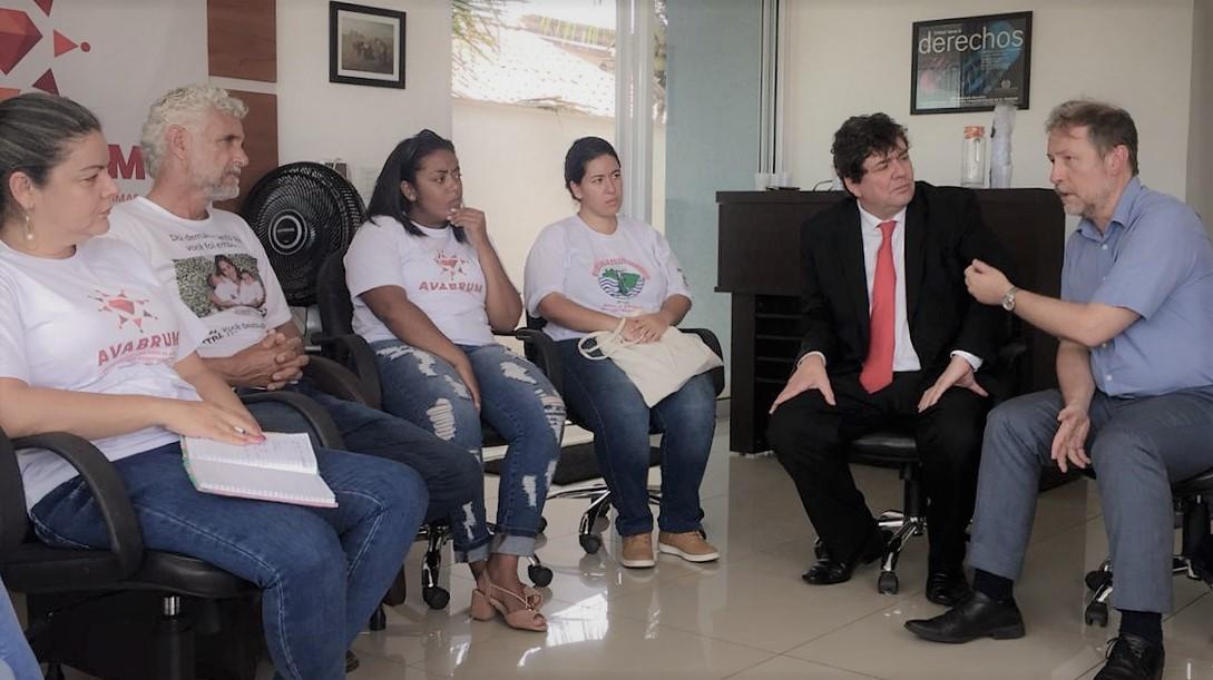 En Brasil, Representante Regional dialogó sobre derechos humanos con autoridades y sociedad civil