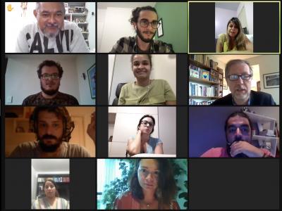 Participantes da reunião entre ONU Direitos Humanos e Mecanismos de Prevenção e Combate à Tortura do Brasil
