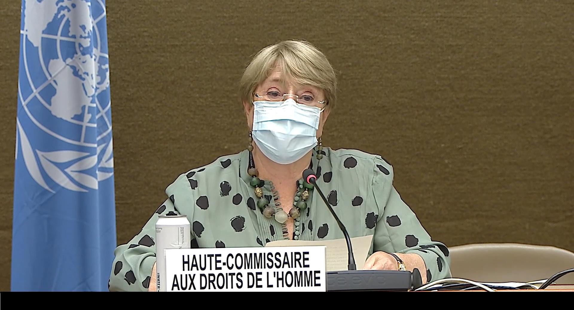 Alta Comisionada informa de retrocesos graves de los derechos humanos en el mundo