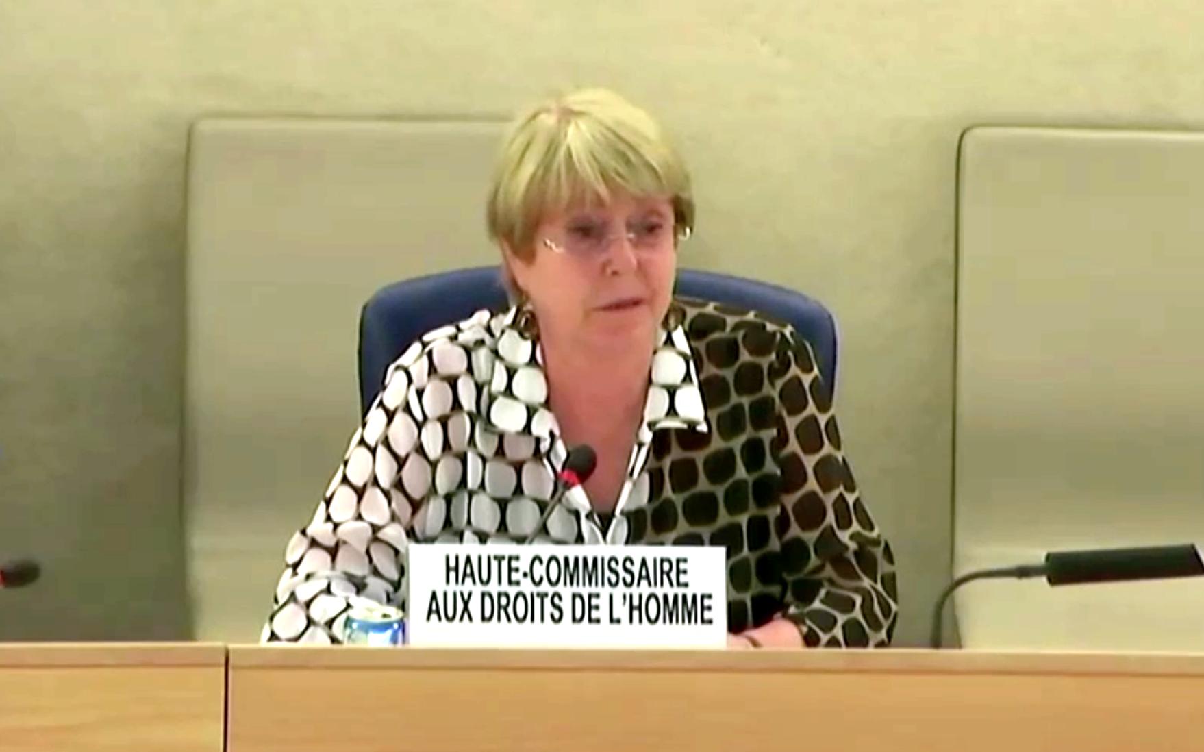 Michelle Bachelet na 47º Sessão do Conselho de Direitos Humanos da ONU